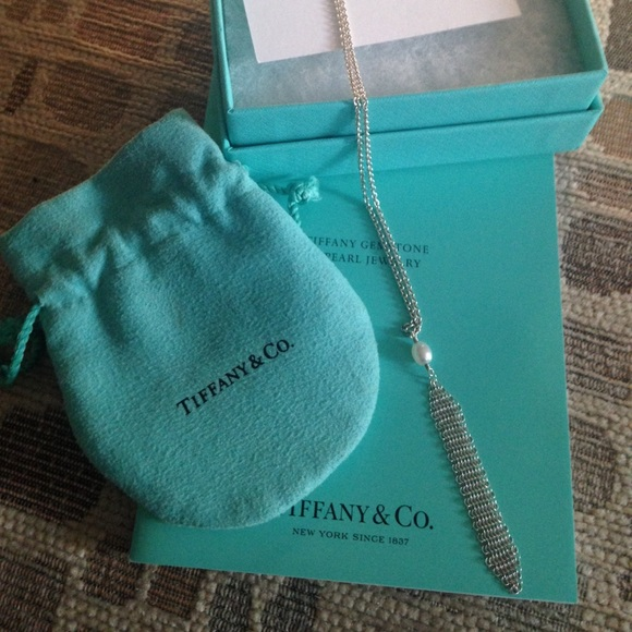 8964dc48f Tiffany & Co. Jewelry | Tiffany Co Ss Mesh Tassel Pendant | Poshmark
